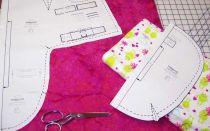 Изготовление пеленки на липучках своими руками