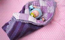 Алгоритм пеленания новорожденного в одеяло