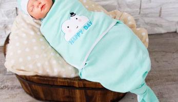 Виды пеленок для сна младенца